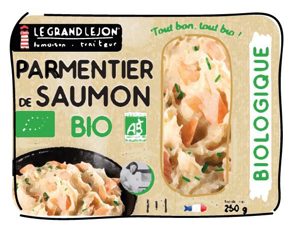 Parmentier de saumon bio Le Grand Lejon