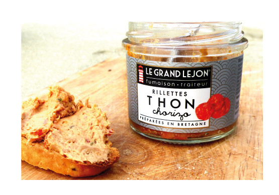 Rillettes de thon Chorizo Le Grand Lejon