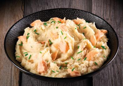 Plat cuisiné saumon Le Grand Lejon