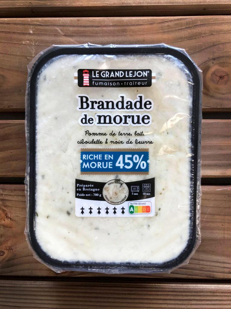 Brandade 45% LE GRAND LEJON