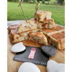 Cake moelleux aux artichauts et aux harengs fumés doux du Grand Léjon