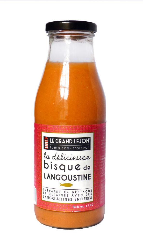 Bisque de langoustine Le Grand Léjon
