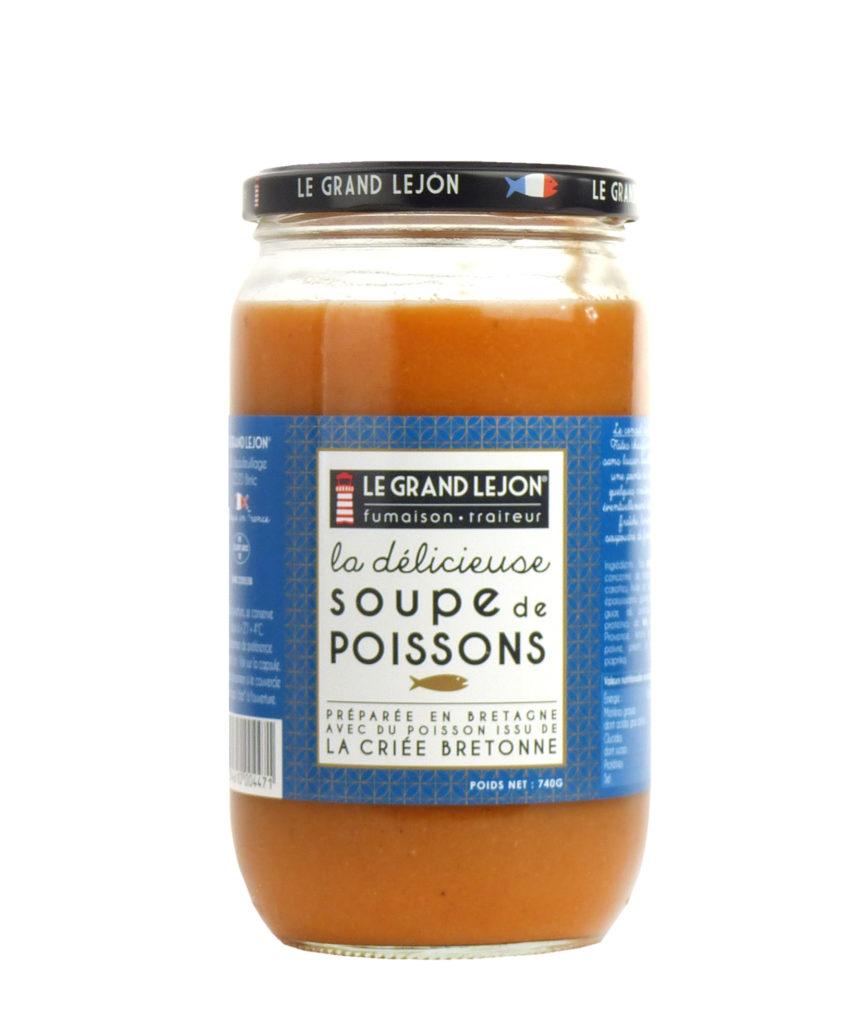 Soupe de poisson - La délicieuse - Le Grand Léjon