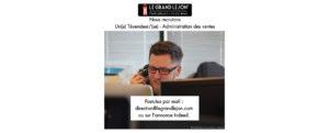 OFFRE D'EMPLOI Un(e) Tévendeur/(se) - Administration des ventes
